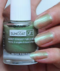 Gorgeous Green Natural Nail Polish
