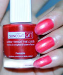 Strawberry Delight Natural Nail Polish